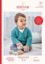 Sirdar Snuggly Bunny Fur Effect Knitting Pattern - 5307 Sweater